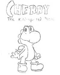 (Outdated) Cherry the Kind-Spirited Yoshi by ShyGamer108