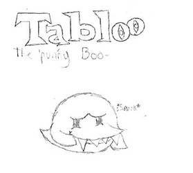 Tabloo the PUNny Boo by ShyGamer108