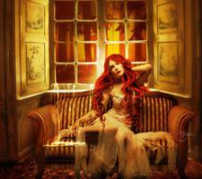 Quand le soleil se couche la melancolie se leve by Marjie79