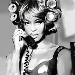naomi campbell by party-mcfly