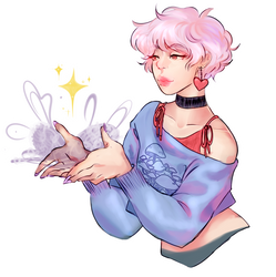 Cotton Candy Bby by party-mcfly
