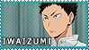 Iwaizumi Hajime - Stamp by Replica-sensei