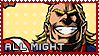 All Might - Stamp by Replica-sensei