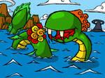 Wind Waker... Kraken? by The-Bradshacalypse