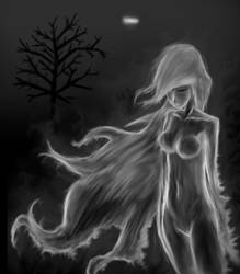 A Ghostly Figure by The-Bradshacalypse