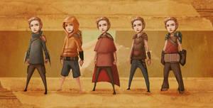 Character Design by LukasBanas