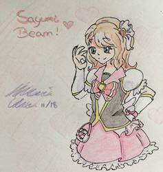[MRA] -M- Sayumi Beam by TLoZ-Freack123