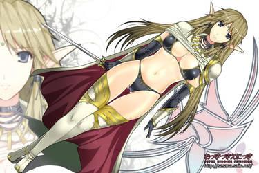 Princess Knight Seravis by sasana-u