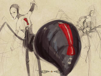 Apocrita - Black Widow by lychen