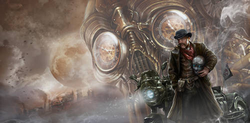 Midnight of Dieselpunk by Dalaukar