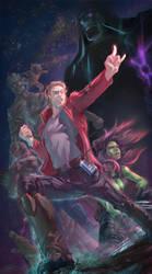 Guardians Of The Galaxy by arashicat