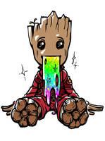 Groot eww~~ by arashicat