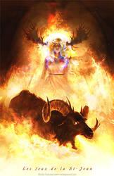 Les feux de la St-Jean by Vorace-Art