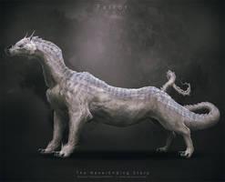 NeverEnding Story Redesign // Falkor by Vorace-Art