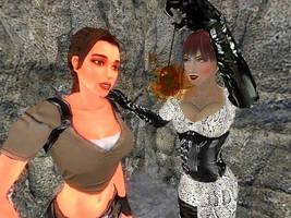 Lara Croft: Hypnotized by alyxcaptor