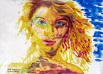 Taylor on Fire by DanielLeeHawk