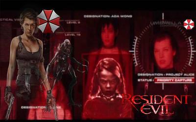 Resident Evil Wallpaper by DanielLeeHawk