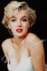 Marilyn Monroe by DanielLeeHawk