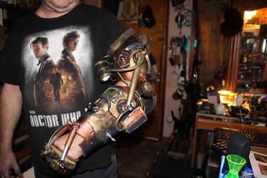 Steampunk Mechanical Arm by DanielLeeHawk