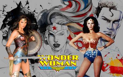 Wallpaper Wonder Woman by DanielLeeHawk