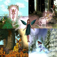 Season of the Faeries by stampingqueen