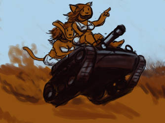 S-tank duo by bunny75