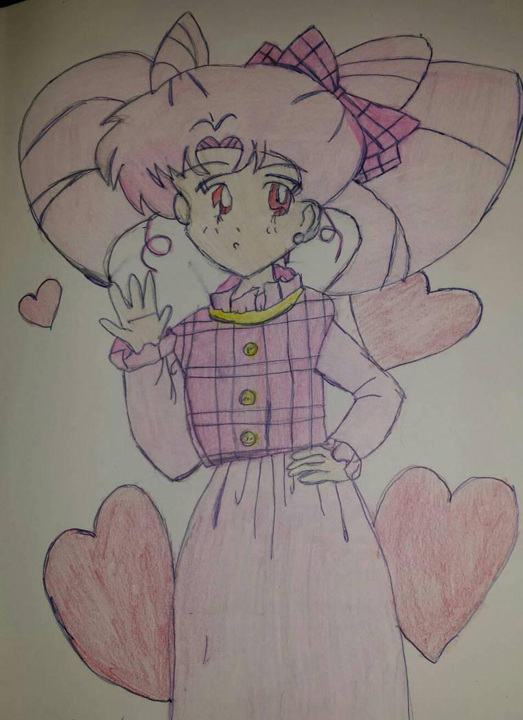Sailor Chibi Moon by Princ3ssWolfi3