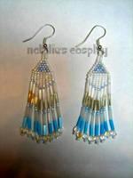 'Ice Princess' Earrings by Natalie526