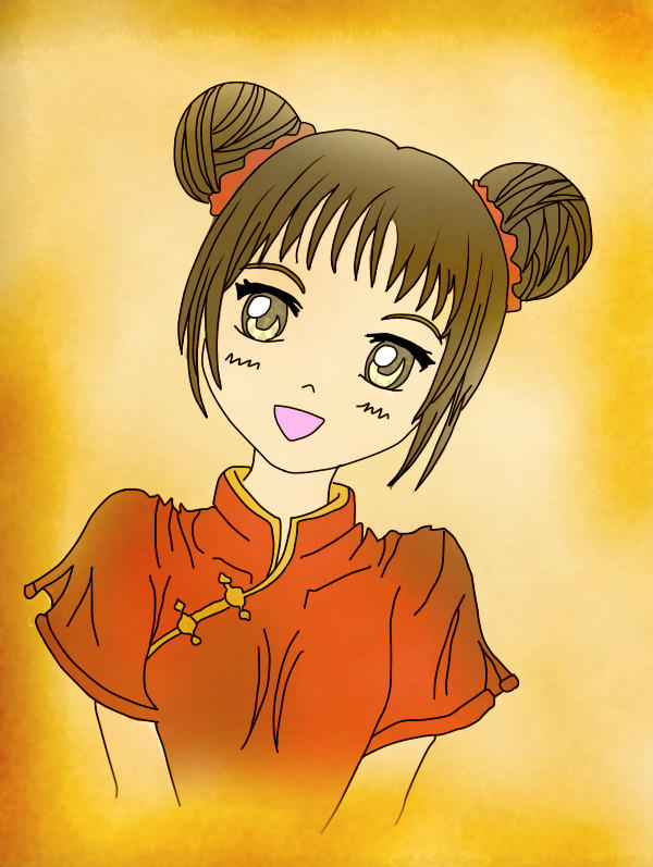 Anime Pucca Cololred By Chocotay1996 On Deviantart