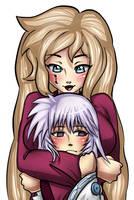 Commission: Banira and Hakudoshi by 7EmUr