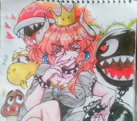 Bowsette by gres18