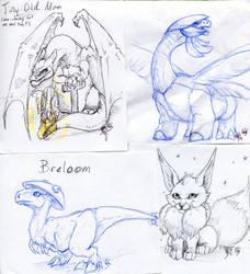 Pokemon Sketch001 by BladeGunSniper