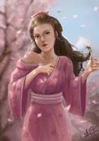 Geisha Remake by leometroid