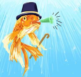 New Year's Fish by Seamonkey-Sama