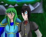 SR:MT: Silvea and Erideus by AxisofDestruction