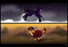 Bevel and Sugg .:Run:. -AT- by TrelDaWolf