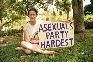 Asexuals Party Hardest by GaiaShirley
