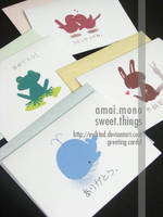 Amai.mono cards by evikted