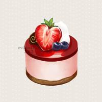 umai - strawberry mousse by evikted