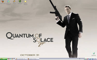 Quantum of Solace Desktop by kageru-hinoryu