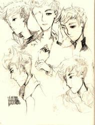 wu fan scribbles by silentpokefreak01