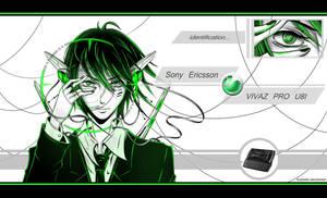Sony Ericsson Vivaz PRO U8I by Kryhelis
