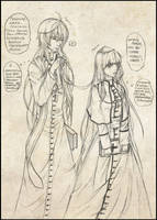 Holy Father Lukas and the Bishop Maria by Kryhelis