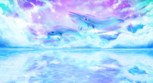 Celestial Whales by Kryhelis