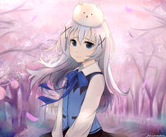 Chino-chan by AngelaCali2