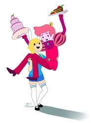Adventure Time Collab: by SavvyShark