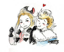 Ringabel and Edea by Lamby-J