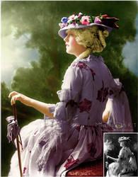 Marion Davies recolor by Miha3lla