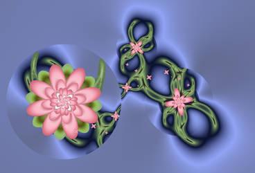 Pink Flowers by musoller