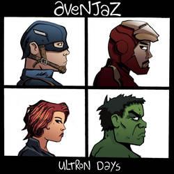 AVENJAZ - Avengers + Gorilaz by oO-sam-Oo